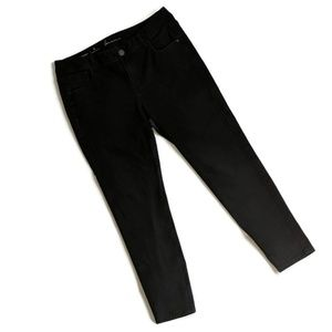 Lane Bryant Genius Fit Black Skinny Jean 16R